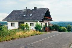 traditionellt tyskt hus Royaltyfri Fotografi