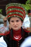 Traditionellt ungerskt bröllop Arkivfoton