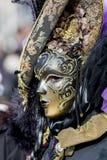 traditionellt venetian för karnevalmaskering Royaltyfri Fotografi