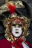 traditionellt venetian för karnevalmaskering Arkivfoton
