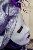 traditionellt venetian för karnevalmaskering Royaltyfri Foto