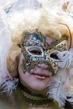 traditionellt venetian för karnevalmaskering Royaltyfria Bilder