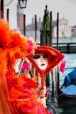 traditionellt venetian för karnevalmaskering Fotografering för Bildbyråer
