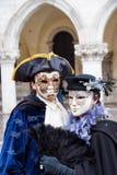 traditionellt venetian för karnevalmaskering Royaltyfri Bild
