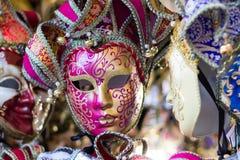 traditionellt venetian för maskering Royaltyfri Bild