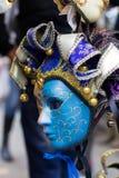 traditionellt venetian för maskering Arkivfoton