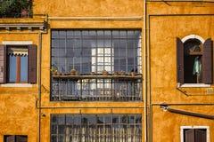 Traditionellt Venetian hus Arkivfoton