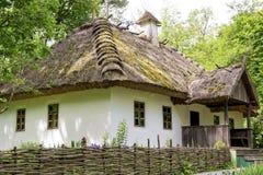 Traditionen des ukrainischen Hauses stockfoto
