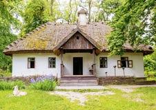 Traditionen des ukrainischen Hauses stockfotografie