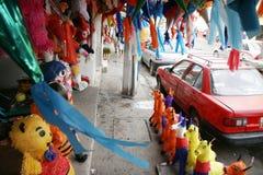 Traditioner och berömmar under nytt år i villahermosa, tabasco, Mexiko Arkivfoton