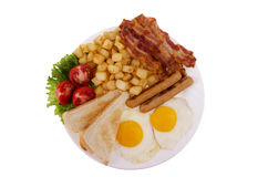 Traditionnal breakfast Royalty Free Stock Photography