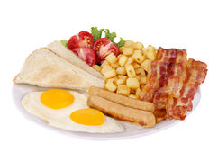 Traditionnal breakfast Royalty Free Stock Photo