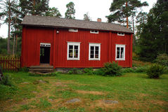Traditionnal drewniany dom Obraz Stock