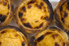 Traditionnal portuguese dessert name nata Stock Image