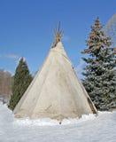 Traditionnal teepee . stock photos