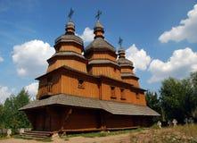 Traditionnal ukraiński kościół Zdjęcie Stock