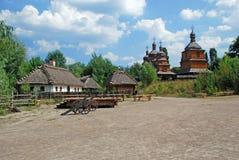 Traditionnal ukraiński krajobraz Fotografia Royalty Free