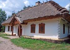 Traditionnal ukrainian house Stock Image
