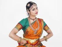 traditionnel indien femelle de danseur Photo stock