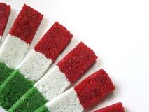 traditionnel rayé écarté par noix de coco de sucrerie Photos libres de droits