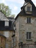 Traditionnelles de Maisons, Turenne (Frances) Image stock