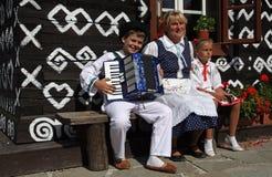 Traditions , Cicmany , Slovakia Stock Images