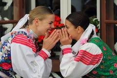 Traditions , Cicmany , Slovakia Stock Photo