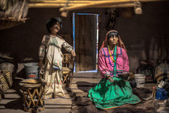 Traditions. Traditional clothing in mexico of the last century Royalty Free Stock Image