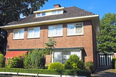 Tradititional dutch house in the Netherlands Royalty Free Stock Photos