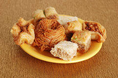 Traditoin east sweets Stock Photo