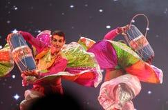 Free Traditonal Folk Dance, Mystic India Show Bahrain Royalty Free Stock Photo - 33595555