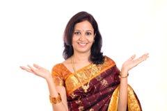 Traditonal Indian woman Royalty Free Stock Photo