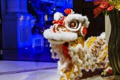 Traditonal Lion Dance Royalty Free Stock Photo