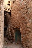Traditonal Omani Village Alleyway Stock Image