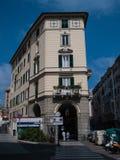 Traditonalarchitectuur op de stad van Savona, Ligurië, Italië Royalty-vrije Stock Afbeeldingen