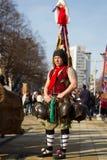 Tradizione Bulgaria di Surva del Mummer di Kuker Fotografia Stock