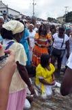 Tradizione di Yemanjá Immagine Stock Libera da Diritti