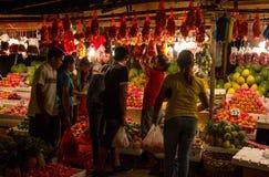 Tradizione unica del nuovo anno in Filippine Immagini Stock Libere da Diritti