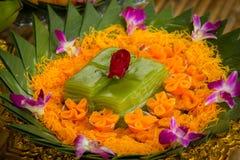 Tradizioni di nozze della Tailandia Fotografie Stock Libere da Diritti