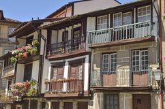 Tradtional house in Guimaraes Stock Photography