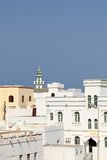 Tradtional houses, Sur (Oman) Royalty Free Stock Images