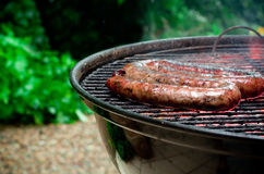 Tradtional South African braai barbecue Royalty Free Stock Images