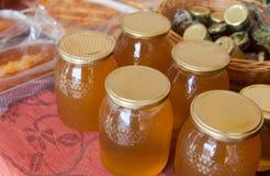 Tradtional wares of honey Stock Image