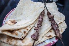 Tradtionalvoedsel in Iran royalty-vrije stock afbeeldingen