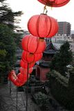 Tradução: ` Do templo de Sofukuji do `, uma incorporação da cultura chinesa fotos de stock