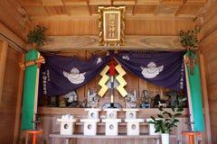 Tradução: o altar de foto de stock