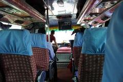 Traducción: pasando la frontera india de Sonauli - Belahiya foto de archivo libre de regalías
