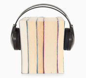 Traduction le concept d'audiobook Photo libre de droits