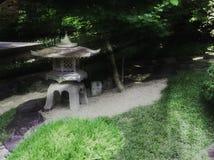 Tradyci Japonia ogród, Zen ogród Zdjęcia Royalty Free