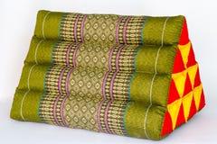 Tradyci rodzima Tajlandzka stylowa poduszka Fotografia Royalty Free